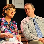 "Rosaleen Agnew and Pauric Dunne in ""Melody"""